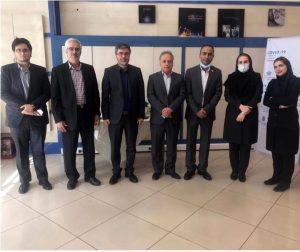 بازدید مدیر عامل بیمه رازی از شعب تهران و البرز