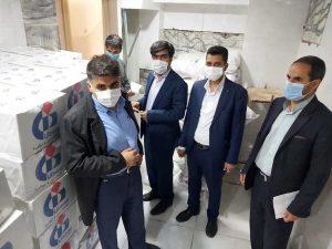 کمک های بیمه دانا به زلزله زدگان سی سخت