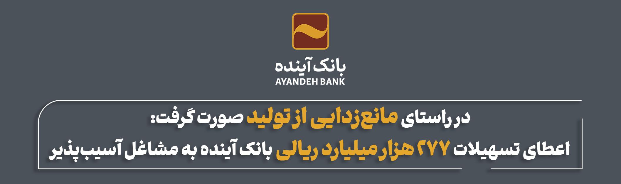 بانک آینده تسهیلات