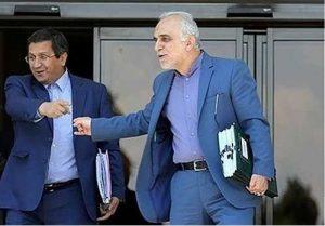 جلسه بورسی همتی و دژپسند با رئیس مجلس