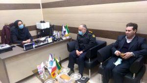 دیدار رئیس شعبه ارومیه با رئیس پلیس راهور استان آذربایجان غربی