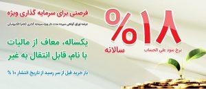 عرضه مرحله نخست اوراق سپرده سرمایه گذاری بانک ملی ایران با سود ۱۸ درصد