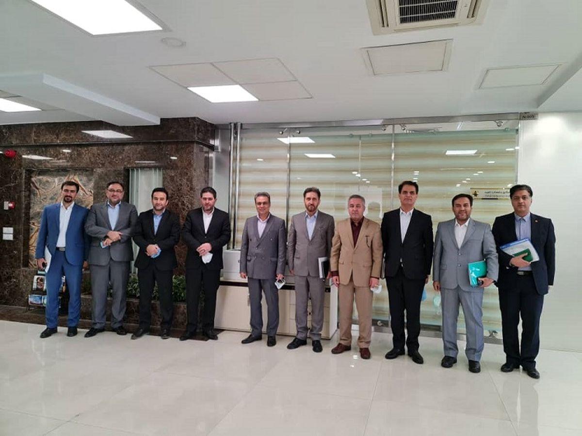 نشست مشترک مدیرعامل بانک ملت و رییس صندوق نوآوری و شکوفایی