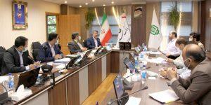 دیدار مدیرعامل شرکت فولاد خوزستان با معاون مدیرعامل بانک ملی ایران