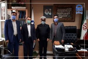 پلیس راهنمایی و رانندگی آذربایجان غربی از بیمه آسیا تقدیر کرد